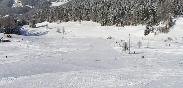 Der Kehlsteinlift am Skigebiet Obersalzberg